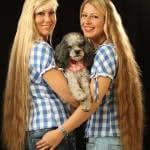 Damen+Hund