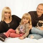 Tierfoto mit Familie-1