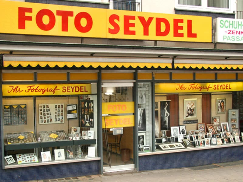 Fotoshooting bei Foto Seydel, Rottstr. Essen