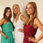 Gruppenfoto junger Damen